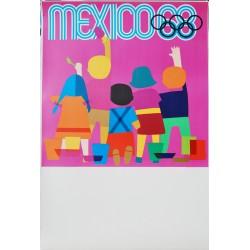Lance Wyman. Mexico 68. Enfance. 1968.