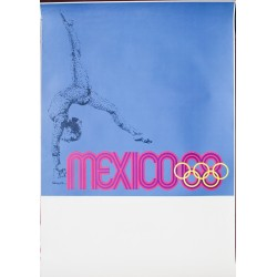 Lance Wyman. Mexico 68. Gymnastique. 1968.