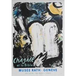 MUSEE RATH, GENEVE. MARC CHAGALL. 1962