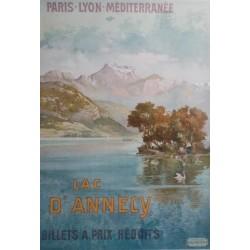 Tanconville. Lac d'Annecy PLM. 1904.