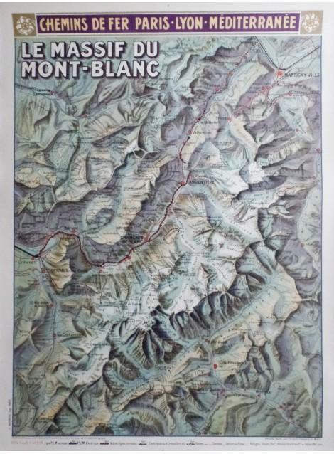 Louis Trinquier-Trianon. Le Massif du Mont-Blanc. 1925.