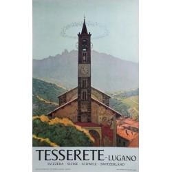 Luigi Rossi. Tesserete - Lugano. Vers 1950.
