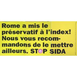 Cr Werbeagentur. Stop Sida. 2003.