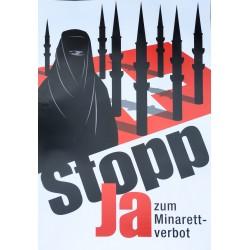 Goal (Zurich). Ja zum Minarett-verbot. Stopp. 2009.