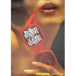 Hans Looser. Brillen tragen, Götte fragen. 1966.