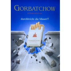 Gorbatchow international durbricht die Mauer ! 1990.