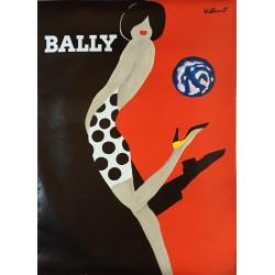 Bernard Villemot. Bally. 1988.