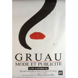 René Gruau. Gruau, Mode et publicité. 1989.