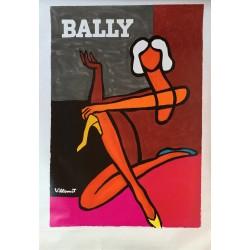 Bernard Villemot. Bally. Circa 1982.