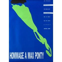 Alan Flechter. Hommage à Max Ponty, Paris. 1991.