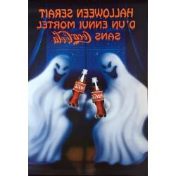 Publicis Conseil. D'un ennui mortel sans Coca-Cola. Halloween. 1998.