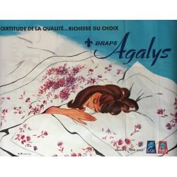 Madeleine Rousseau. Draps Agalys. Circa 1960.