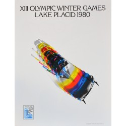 XIII Olympic Winter Games Lake Placid 1980. Bobsleigh. 1980.