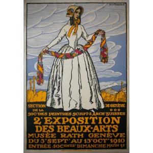 exposition-de-beaux-arts-geneve-henry-claudius-forestier-1910
