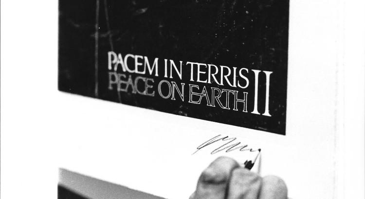 1967-Affiche Pacem in terris II, congres a Geneve 13,4,1967[1]
