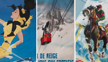 Winter sport posters